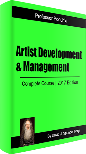 Artist Development & Management course