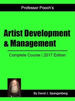 Artist Development & Management