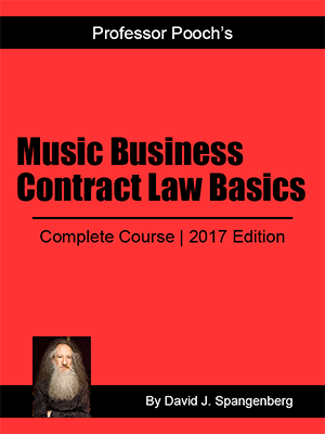 Music Business Contract Law Basics Mini-Course