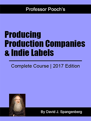 Producing, Production Companies & Indie Labels