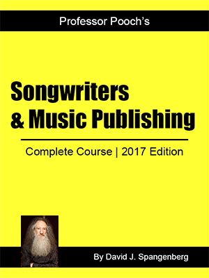 Songwriters & Music Publishing Course